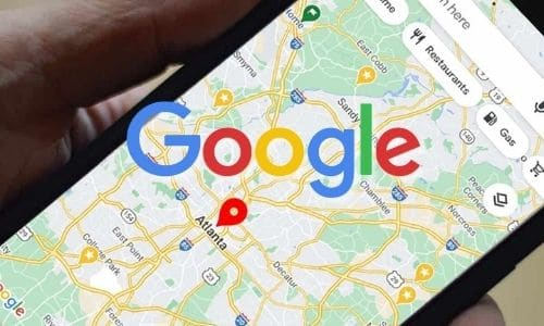 Google Map cell phone