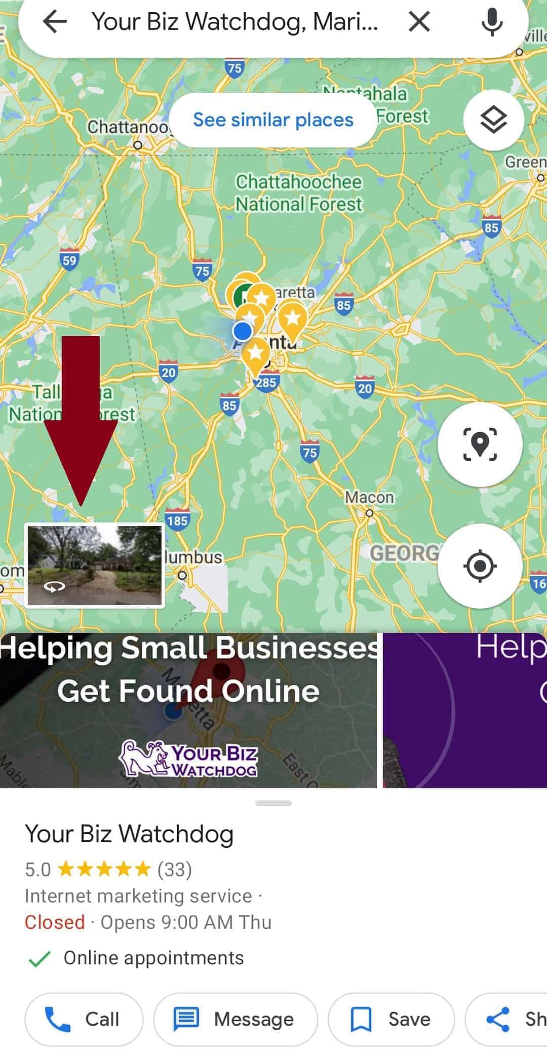 Your biz watchdog google my business profile