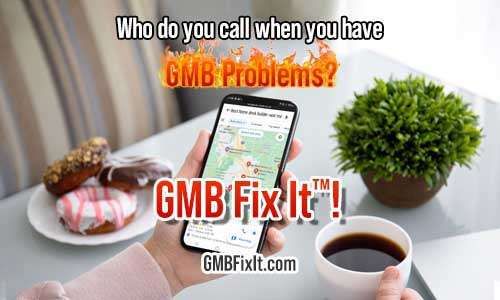 Google my business mobile search problems