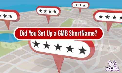 GMB ShortName Depreciated