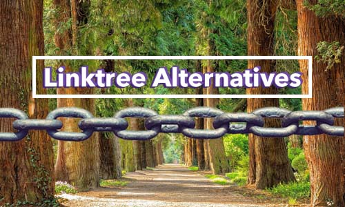 Linktree alternative forest with chainlink